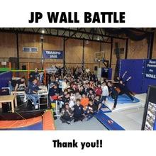 JP WALL BATTLEの動画をYouTubeにアップしました‼